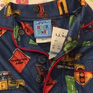 bunz kids Pajamas - NWT Bunz Kids construction worker pj set, 2t